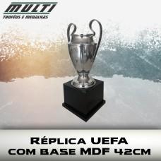 Réplica UEFA 42cm com Base